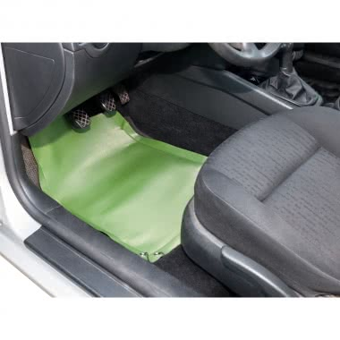 Rollbare EVA-Fußmatte Fahrersitz + Beifahrersitz