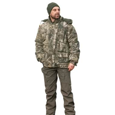il Lago Basic Herren Outdoor-Jacke ODENWALD (camouflage)