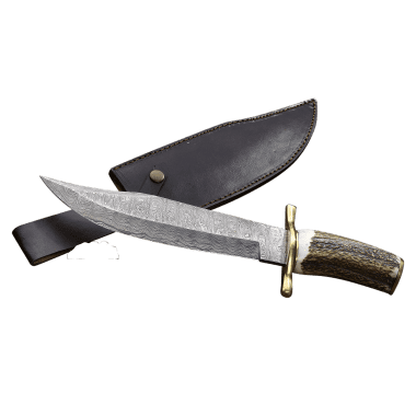 Hunting Knife Damask Plainsman