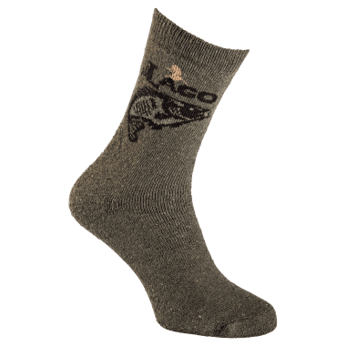 il Lago Basic Socks with Carp Motive