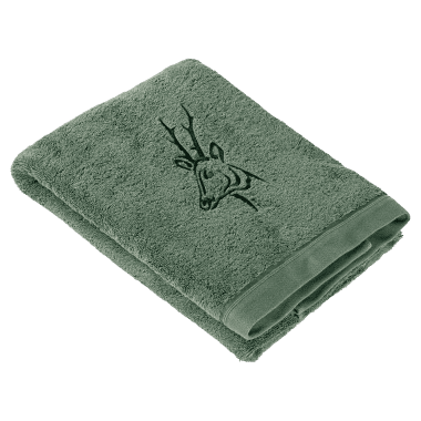 il Lago Passion Shower Towel DEER green