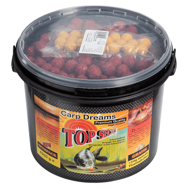 Top Secret Boilies + 50 g Floaters Free