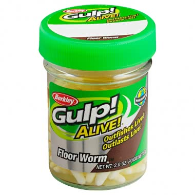 Berkley Gulp Alive Floor Worm at low prices | Askari Fishing Shop