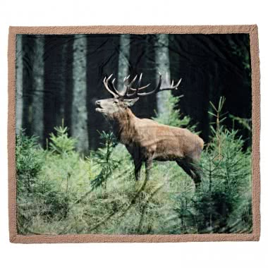 il Lago Passion Blanket (with Red Deer) Sz. 127 x