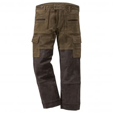 il Lago Prestige Men's Leather Trousers Arne