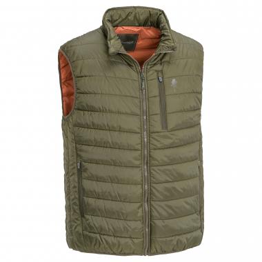 Pinewood Men's vest Brenton (brown/orange)