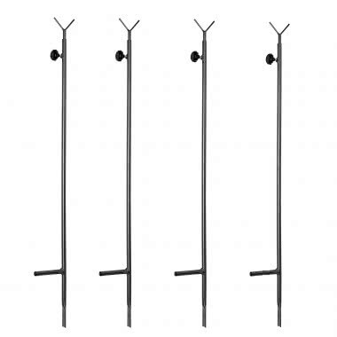 Telescopic Poles for Blinds/Hides, 4 as a set