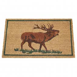 Akah Doormat (Red Stag)