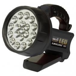 Akku 19 LED multi function spot light