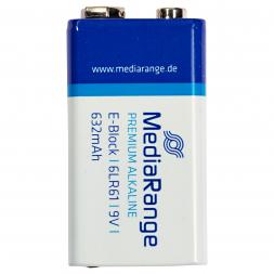 Alkaline Media Range Block 6LR61 (9 Volt block battery)