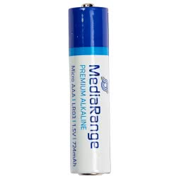 Alkaline Media Range Micro LR03/AAA 1,5 Volt