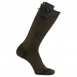Almwalker Red Level Unisex Heatable Knee Socks Feuerland