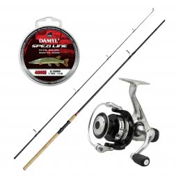 As set DAM Stick II Pike Spin + DAM Quick I 5000 RD + DAM Damyl Spezi Line Pike Spin