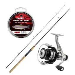 As set DAM Stick II Trout Spin + DAM Quick I 2000 RD + DAM Damyl Spezi Line Trout