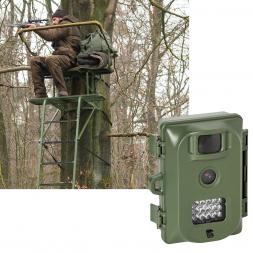 As set tree stand GROBER KEILER + Bearstep wildlife camera Nature View NV1000