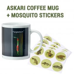 Askari Coffee Mug + Anti-Mosquito Stickers