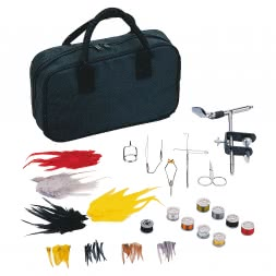 Bag with Fly Tying Accessories