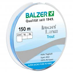Balzer Fishing Line Iron (light blue, 150 m)