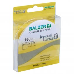 Balzer Fishing Line Iron Line 8 (yellow, 150 m)