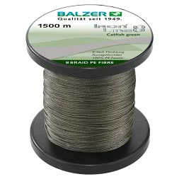 Balzer Fishing Line Iron Line Catfish (green, 1.500 m)