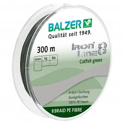 Balzer Fishing Line Iron Line Catfish (green, 300 m)