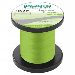 Balzer Fishing Line Iron Line Spin (light green, 1.500 m)