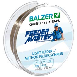 Balzer Fishing Line Lightfeeder-/ Method Feeder (brown, 200 m)
