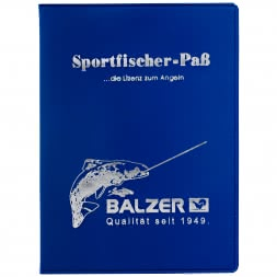 Balzer Fishing Passport Cover