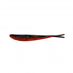 Balzer Jörg Strehlows Drop Shot Shad - Drop Shot baits - black/red/glitter
