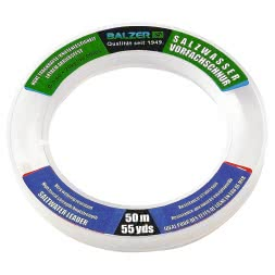 Balzer Saltwater Trace (clear, 50 m)