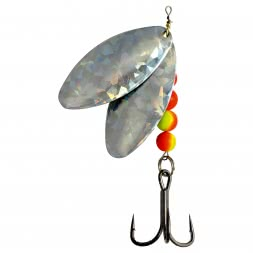 Behr Catfish Bait Catfish Spinner Model 2 (double-leaf silver)