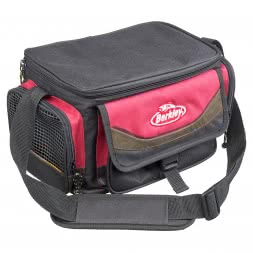 Berkley Bag with Bait Box, red