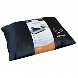 Bodyguard Elegant Pillow / black - 90 x 60 cm