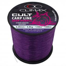 Climax Fishing Line Cult Carp Deep Purple Monofilament (dark purple)