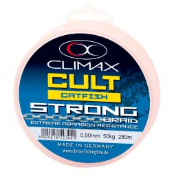 Climax Fishing Line Cult Catfish Strong (brown, 280 m)
