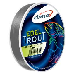 Climax Fishing Line Edel-Trout (silver grey, 300 m)
