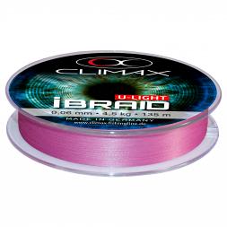 Climax Fishing Line iBraid U-Light (fluo purple, 135 m)