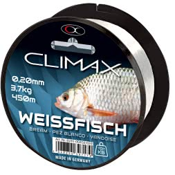 Climax Prey Fish Line Coarse Fish (white, 450 m)