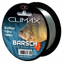 Climax Prey Fish Line Perch (grey,green, 400 m)