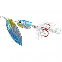 Colonel Jighead Spinner Reality 3D (Coarse Fish Blue)