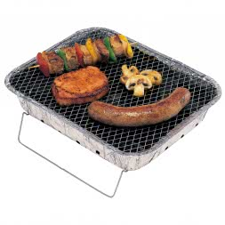 Complete Disposable Barbecue