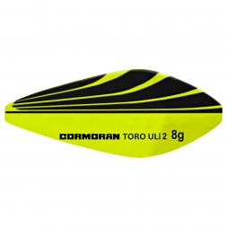 Cormoran Innerline Trout Spoons Toro ULi 2 (chartreuse/black)