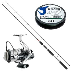 Cormoran/Daiwa Pirk Sea Fishing Combo