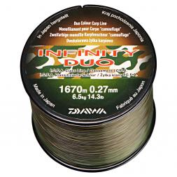 Daiwa Fishing Line Infinity Duo Carp (green-brown)