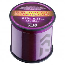 Daiwa Fishing Line Infinity Super Soft (purple, 3.000 m)