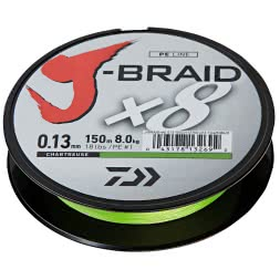 Daiwa Fishing Line J-Braid (chartreuse)