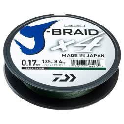 Daiwa Fishing Line J-Braid X4 (dark green)