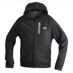 Daiwa Men's Hoodie VEC (w. zipper, black)