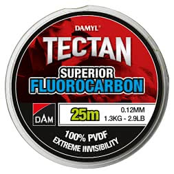 DAM Fishing Line Damyl Tectan Superior Fluorocarbon (clear, 25 m)