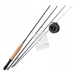 DAM Fly Fishing Set Forrester Fly II Allround